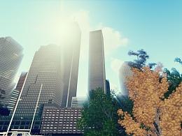 曼哈顿的双子——纪念911
