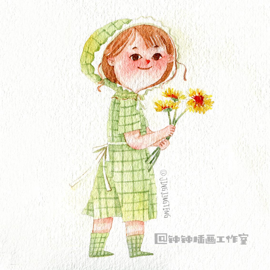花儿与微笑