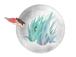 插画/动态图- 人鱼系列作品