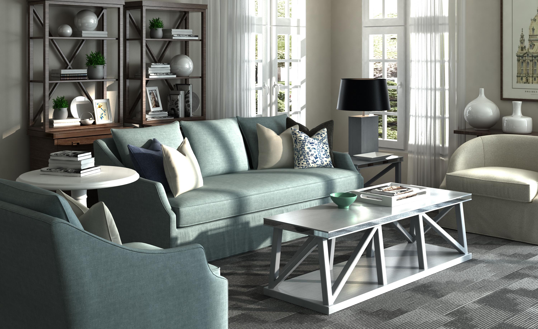 现代美式客厅沙发椅子组合图片