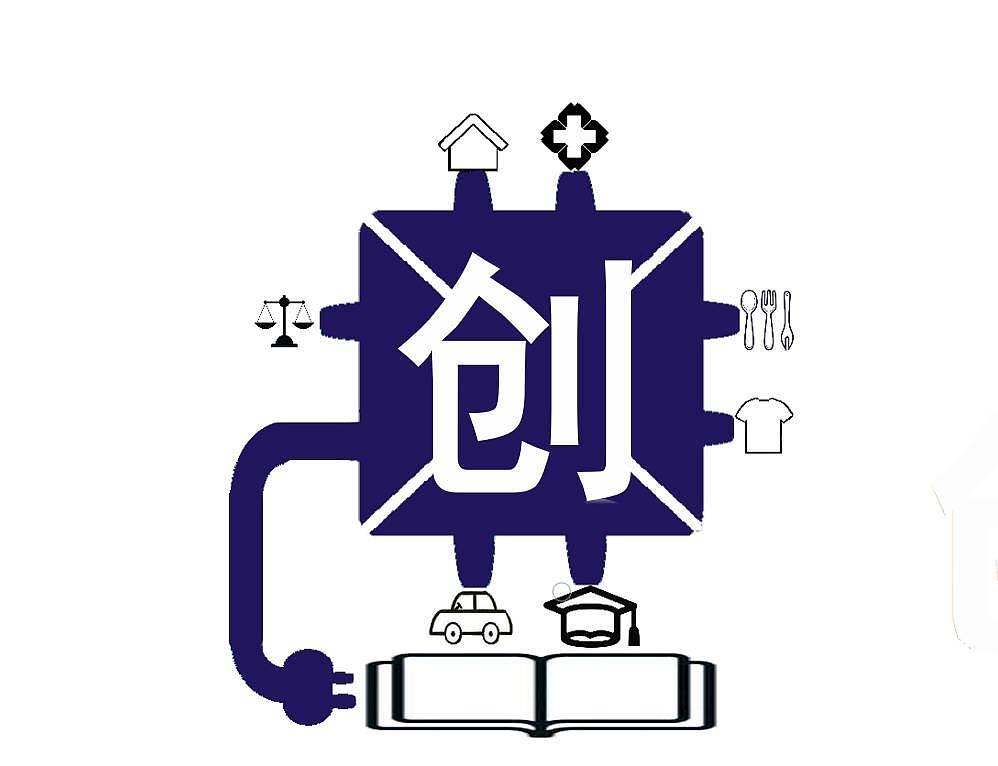 创新创业学院徽章.