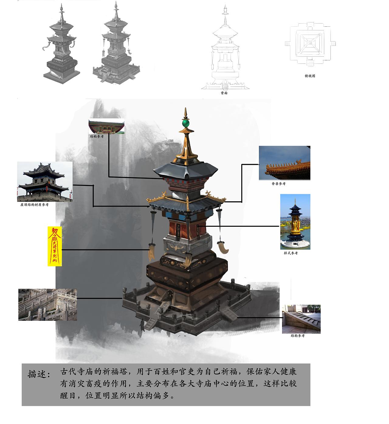 中国风游戏场景物件设计