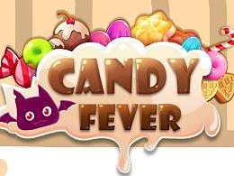 Candy fever 几年前的一款三消外包游戏,应该上线了所