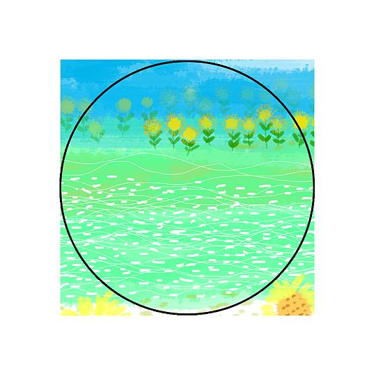 立秋图片手绘图