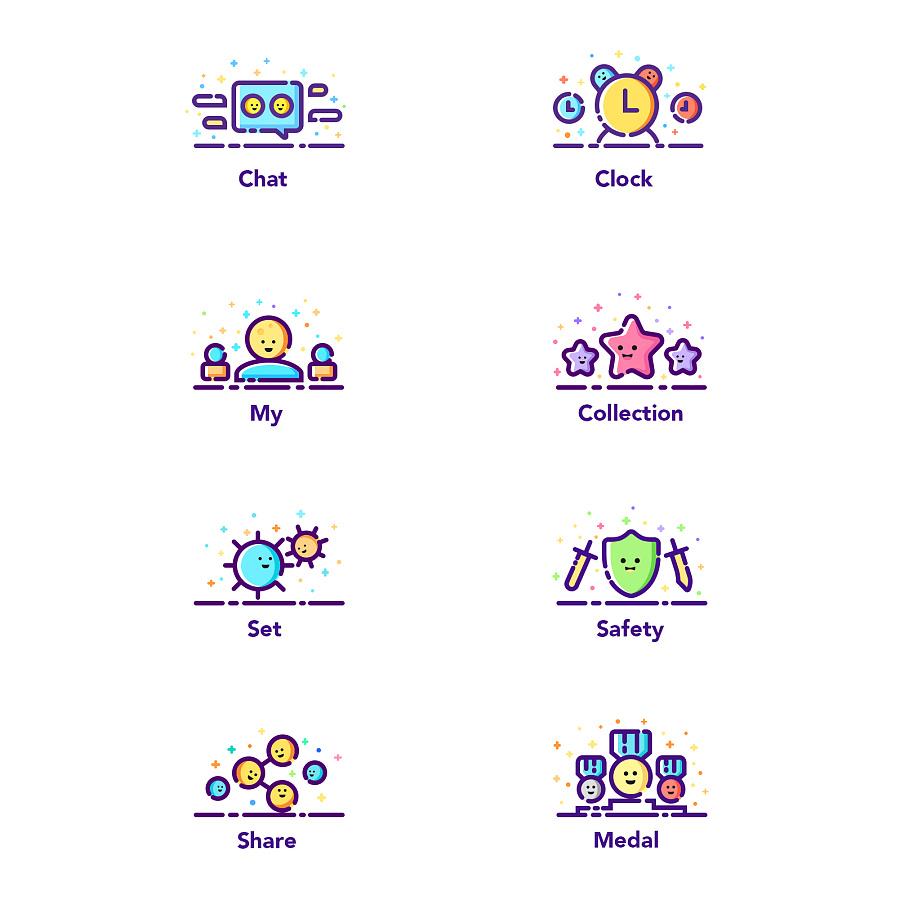 一组MBE常用的风格图标(付源文件)|图标|UI|木平面设计的起源于那图片