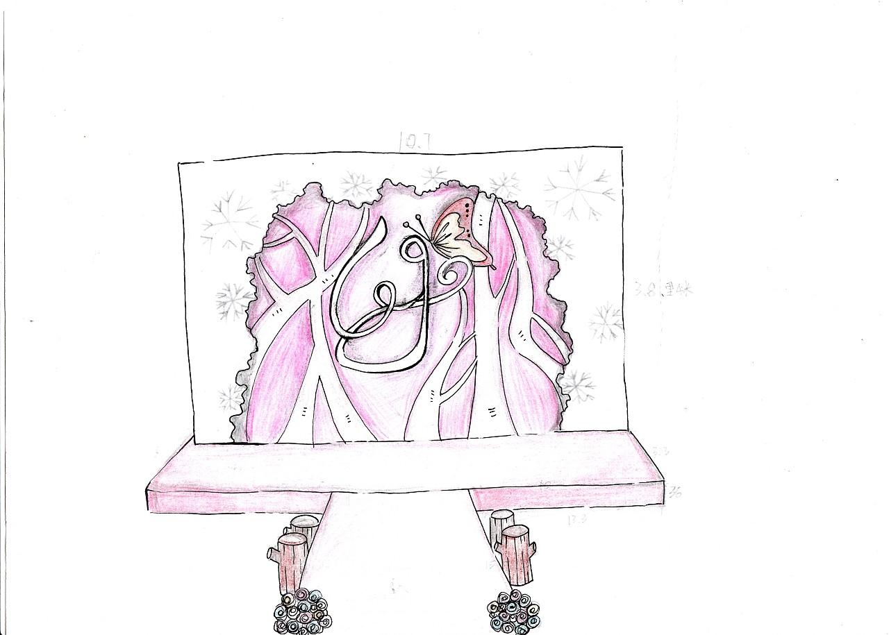 一些婚礼手绘稿