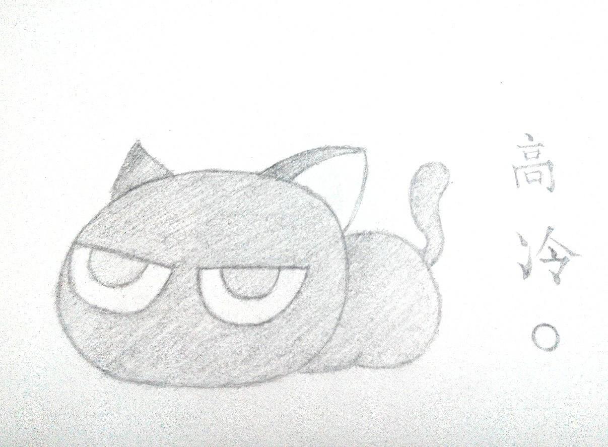 菜鸟手绘 动漫 绘本 少年白与布偶猫 - 原创作品