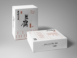麻将豆腐包装设计