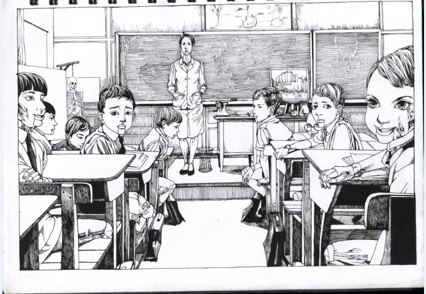 纯手绘线稿|商业插画|插画|guojing12138