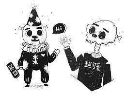 2019年涂鸦合集一(纸上瞎涂瞎画)