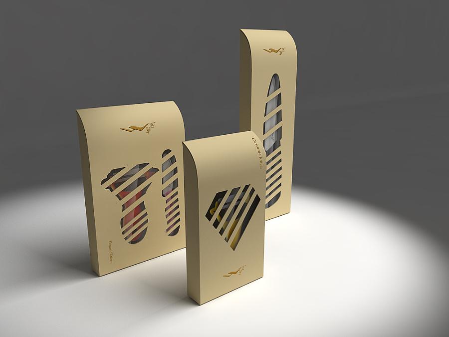 水果刀具创意包装设计2款图片
