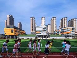 华中师范大学附属郑州万科城小学|建筑空间摄影