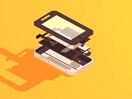 手机拆分动画