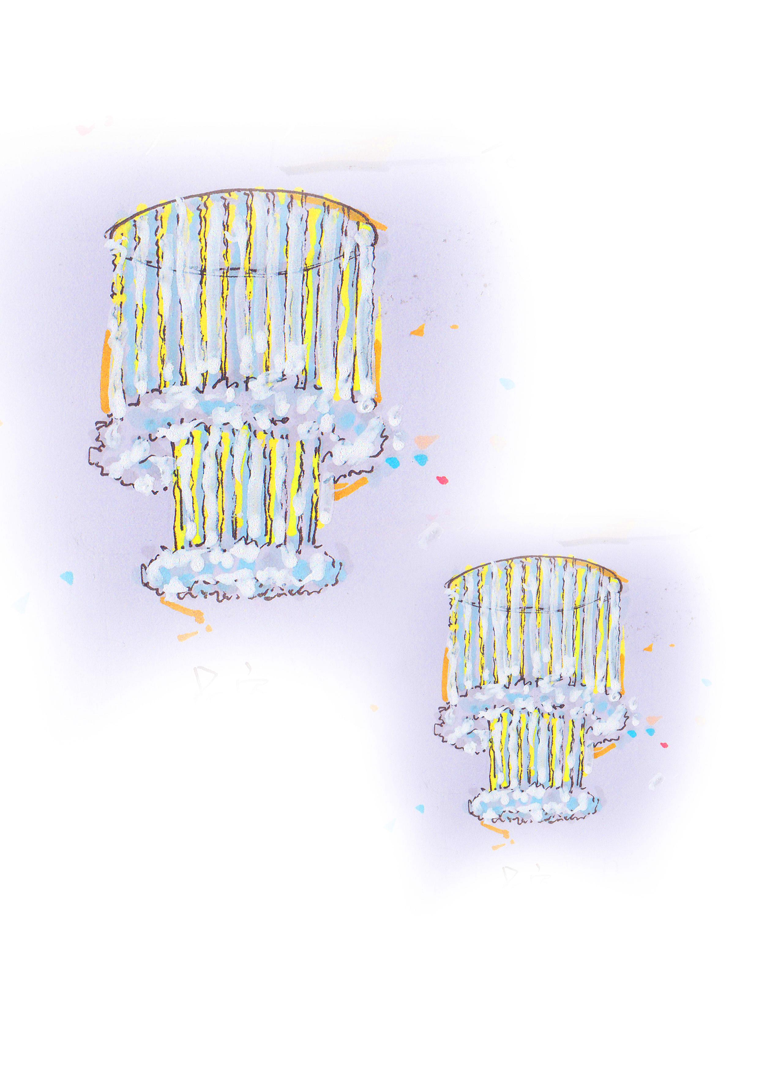 拾光——主题婚礼设计手绘稿
