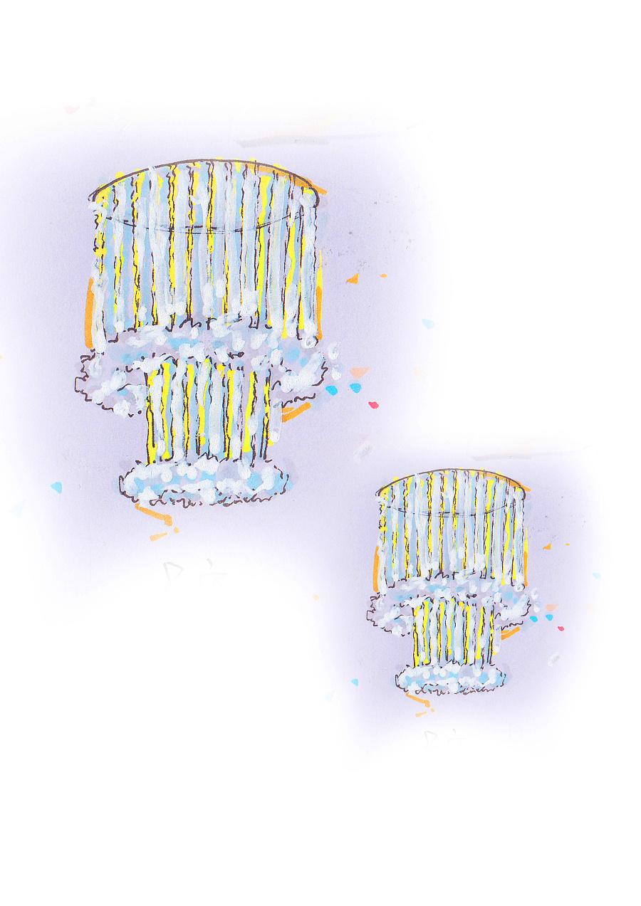 拾光——主题婚礼设计手绘稿|舞台美术|空间|_小鱼干