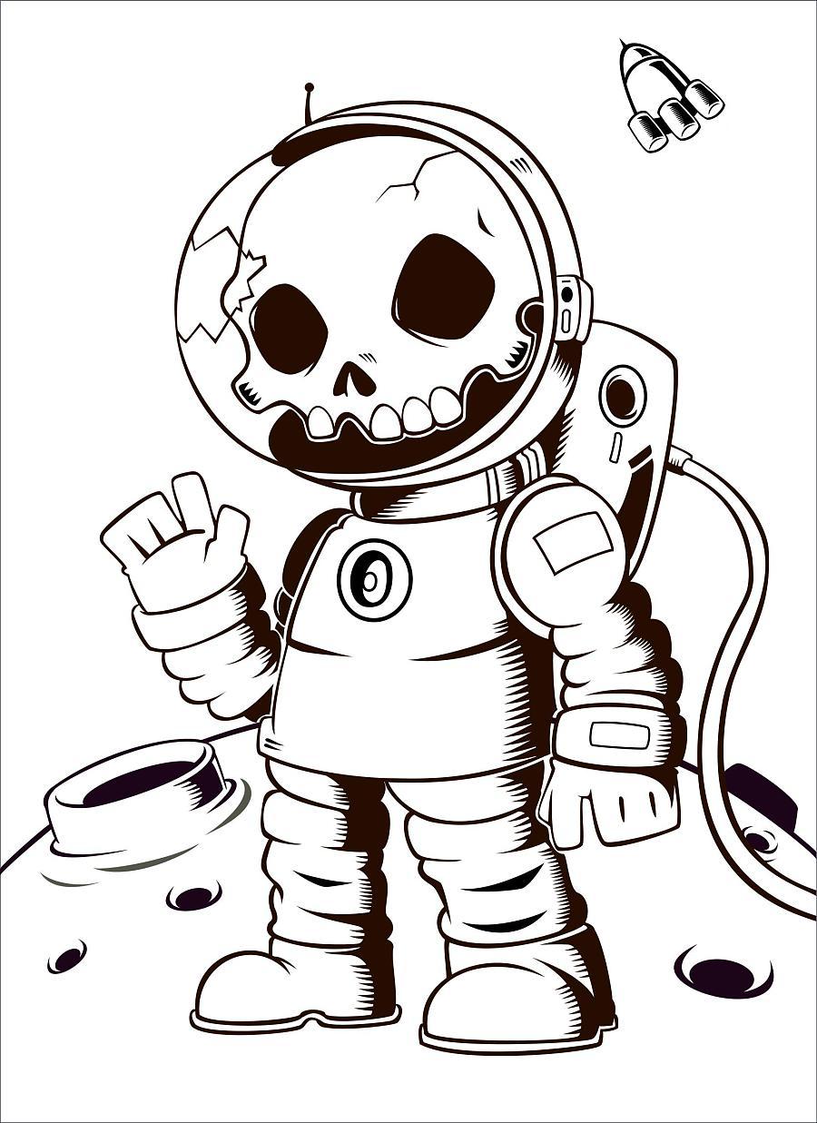动漫 简笔画 卡通 漫画 手绘 头像 线稿 900_1237 竖版 竖屏