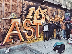 西安涂鸦ASTCREW Graffiti Studio 往期作品回顾