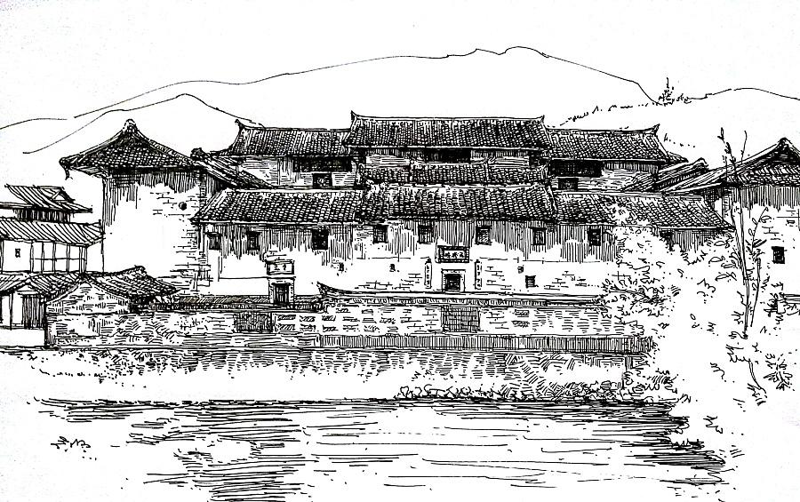原创作品:中国古建筑