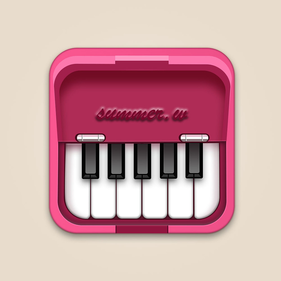 icon 钢琴图标