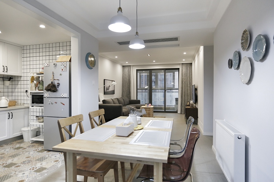 【a时代宜家风】广电兰亭时代|室内设计|视觉空间传播设计与制作和广告设计图片