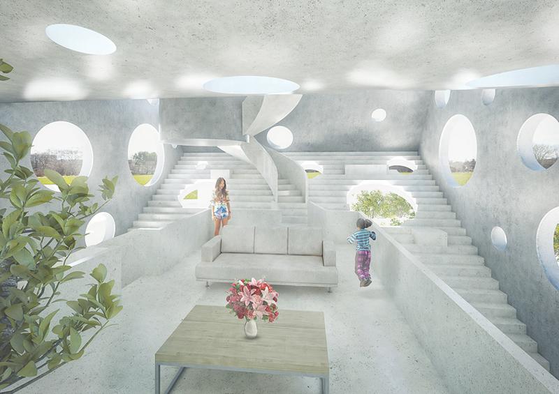 查看《 'Y形别墅':一座远离城市喧嚣,配备屋顶泳池的私家住宅》原图,原图尺寸:800x565