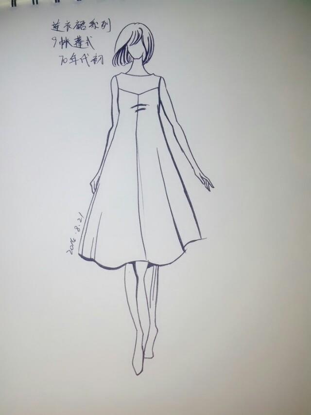 20世纪连衣裙系列--服装发展史