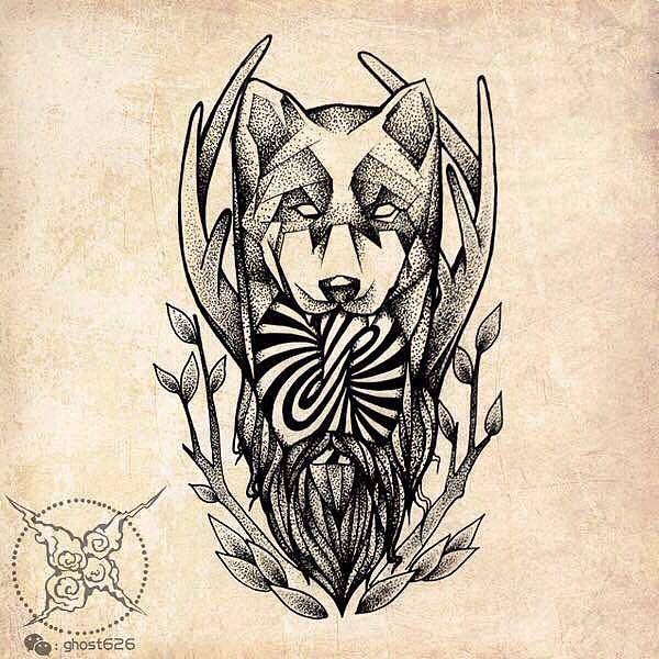 纹身手稿图片