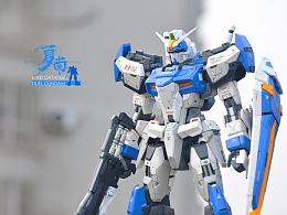 1:100 MG 决斗高达+GK改件
