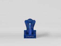 马来西亚【MILAIRE】安瓶化妆品包装设计