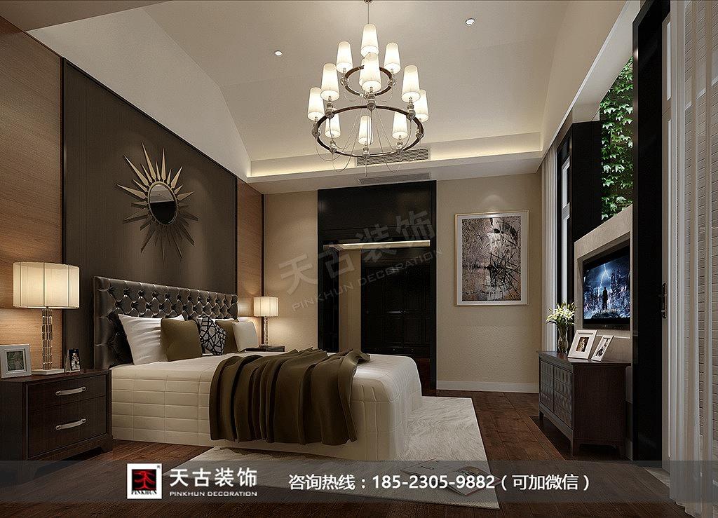 重庆华侨城别墅装修效果图|天古梦空间设计师马建