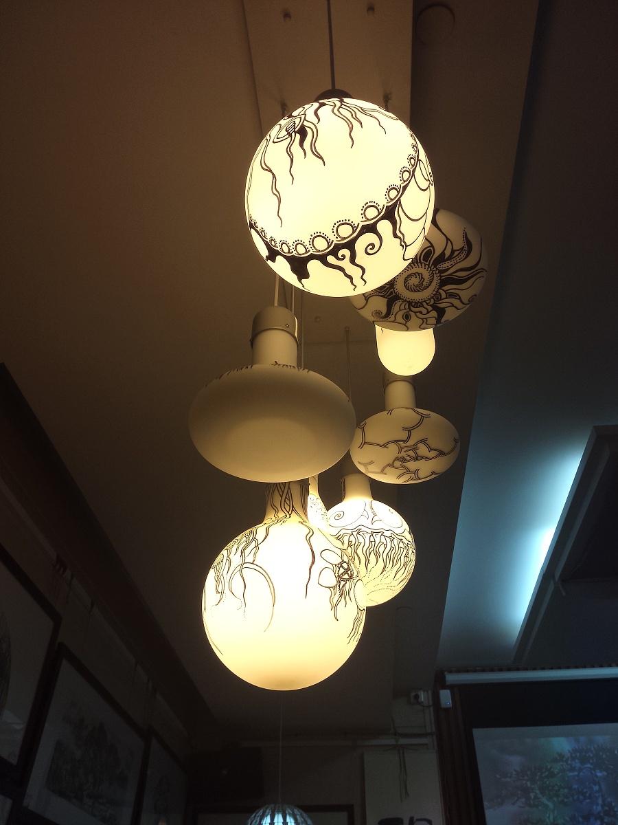 原创作品:麦平灯饰手绘