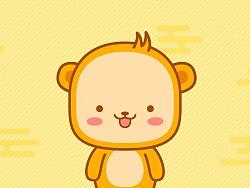 微信表情-小猴子二毛