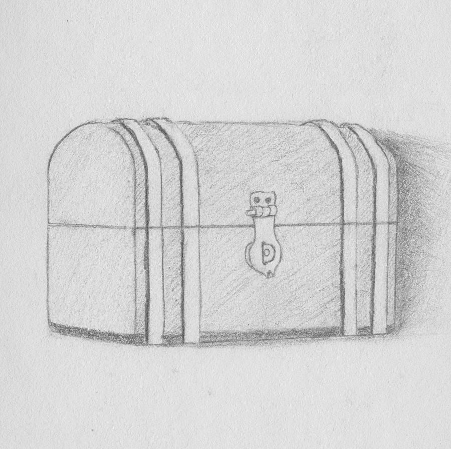 素描箱子结构图