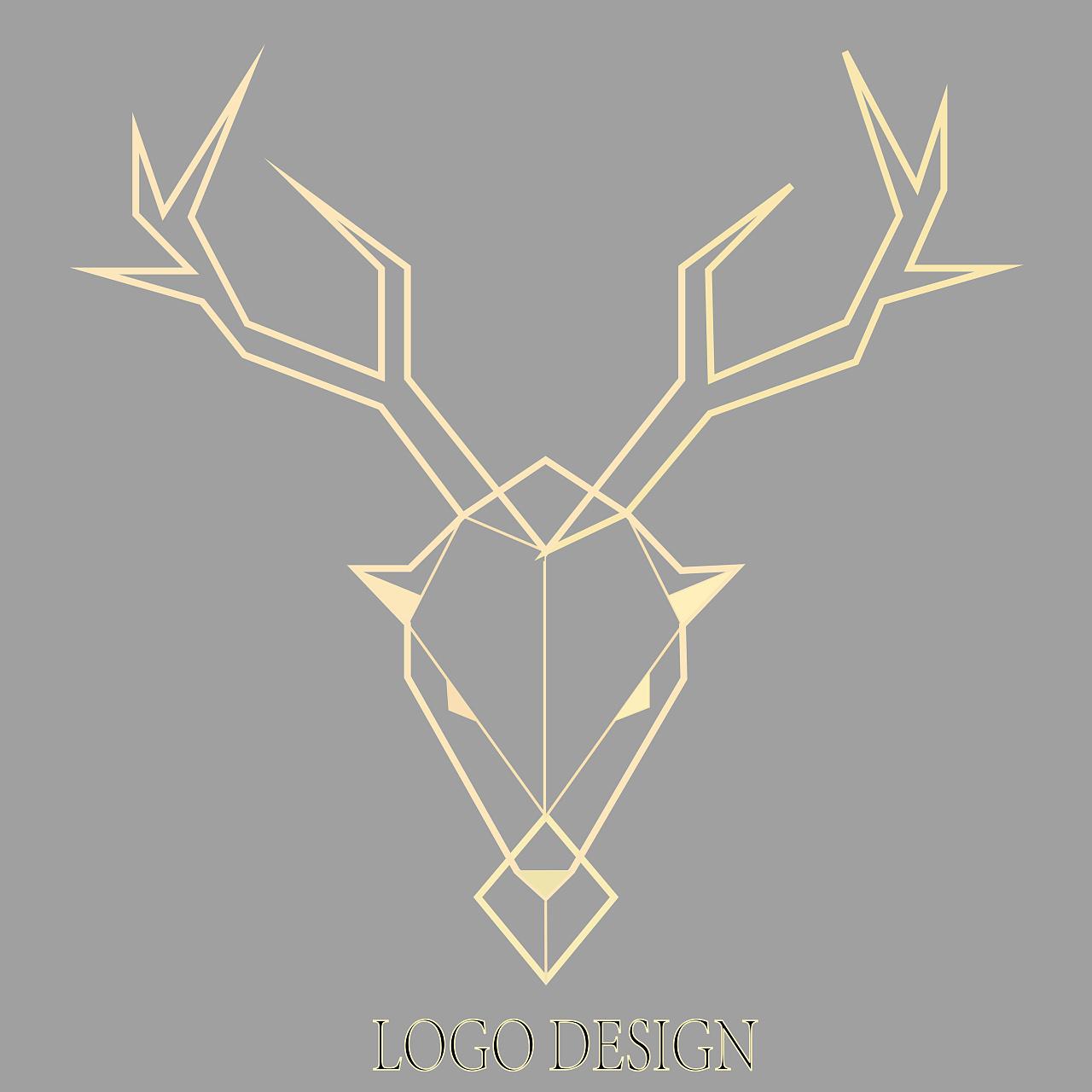 麋鹿logo