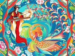 河南省博物院×知著文创 青铜镜面纹设计春节系列
