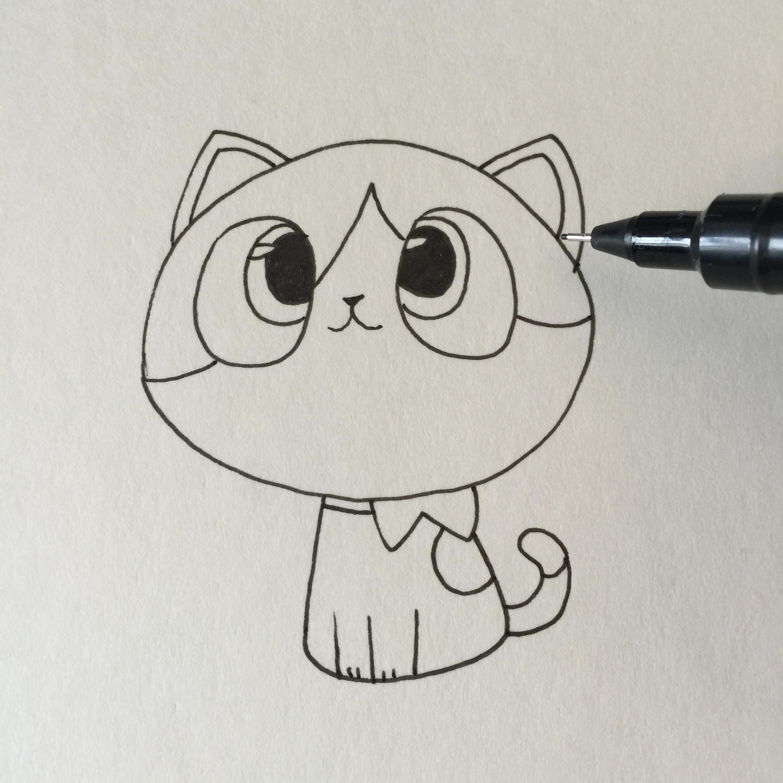 动漫 简笔画 卡通 漫画 手绘 头像 线稿 2448_2448