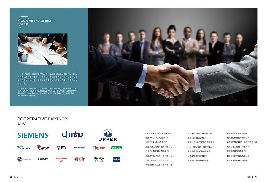 医疗公司 宣传册版式排版 企业画册目录 产品目录 商业dm catalog图片