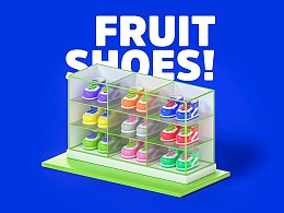 Fruit Planet 水果星球卡通形象设计