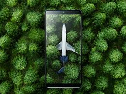锤子科技 坚果手机Pro 2S碳黑色 黑暗森林