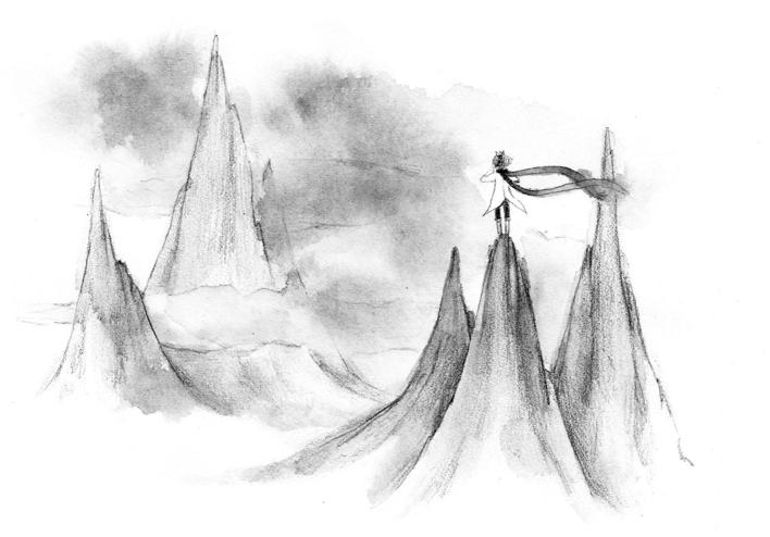 新浪博客配图_小王子黑白配图2|插画|商业插画|鱼疯子 - 原创作品 - 站酷 (ZCOOL)