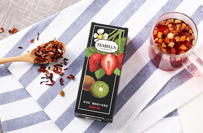 塔贝拉德国进口花果茶包装|包装|平面|暮缇