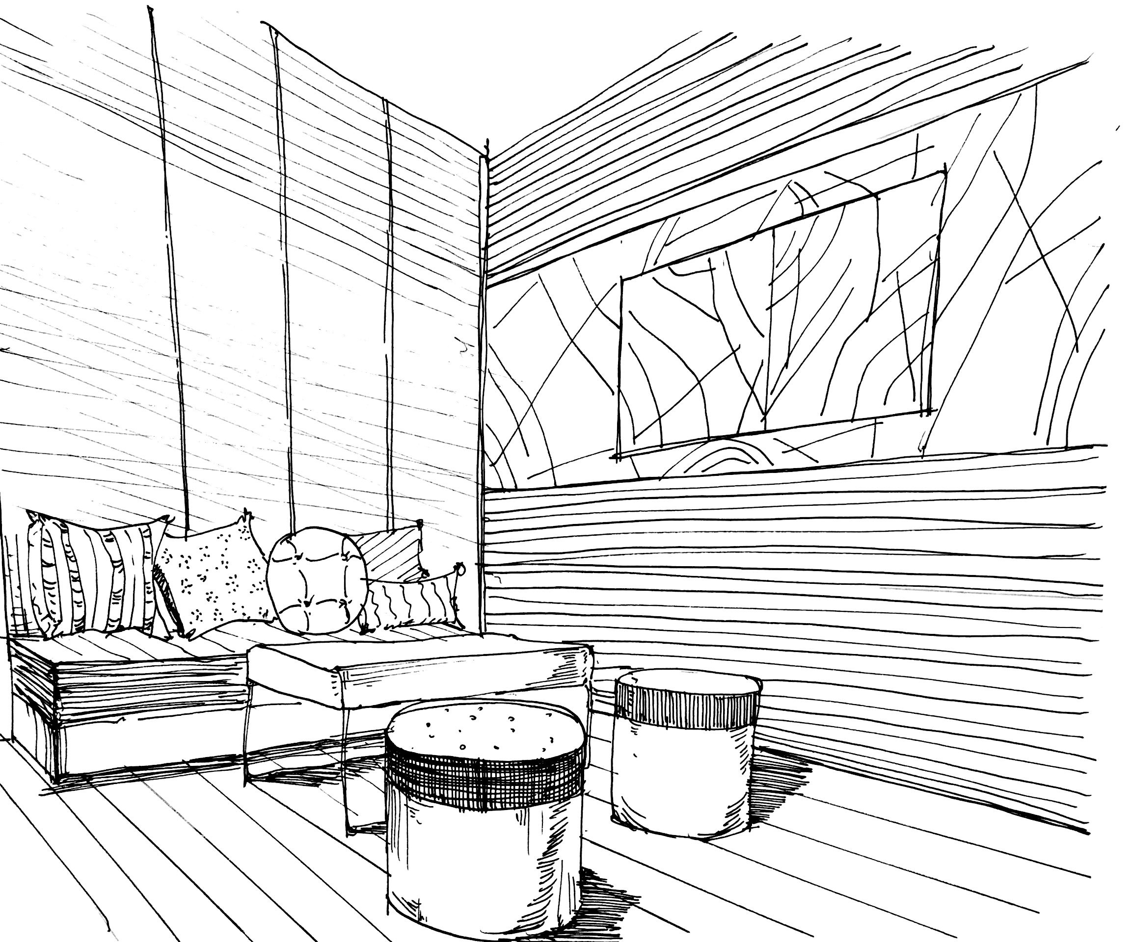 私人住宅设计 空间 室内设计 毛皮儿 - 原创作品
