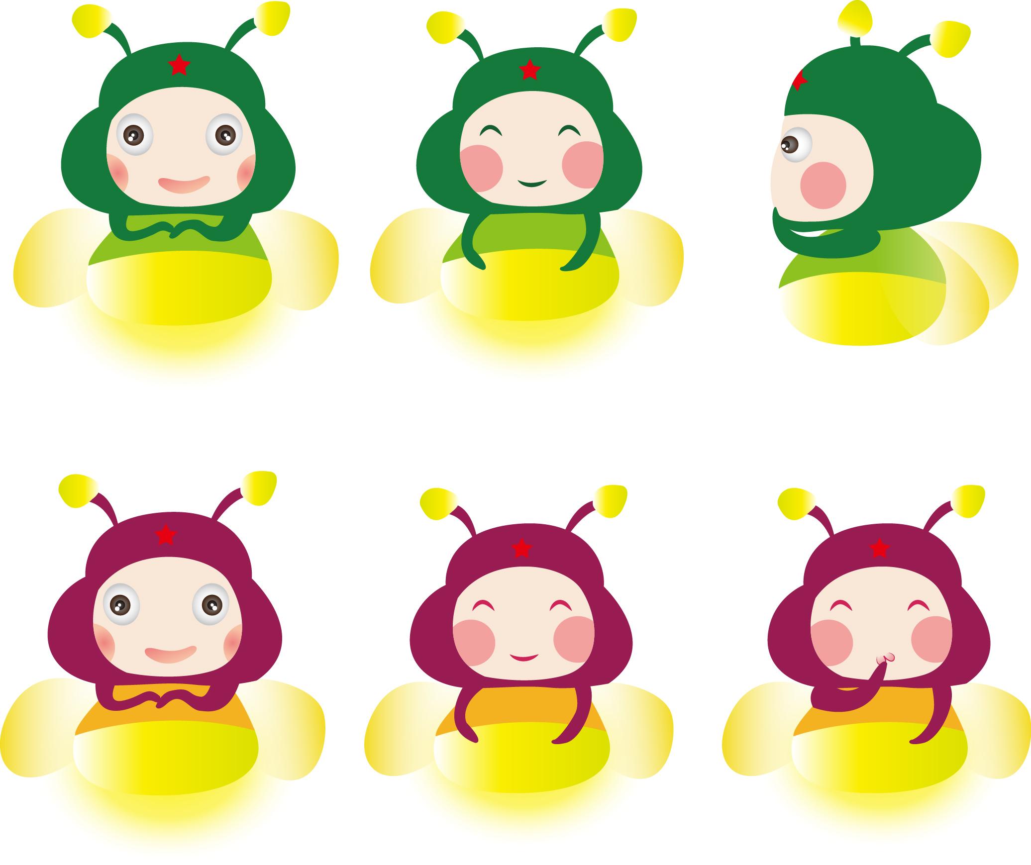 小萤火虫形象