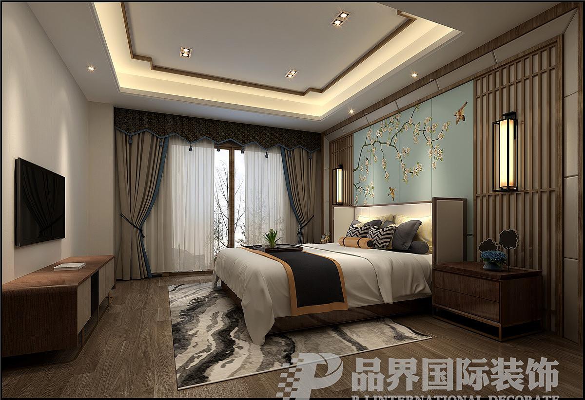 重庆北碚山语城联排别墅 空间 室内设计 品界国际装饰