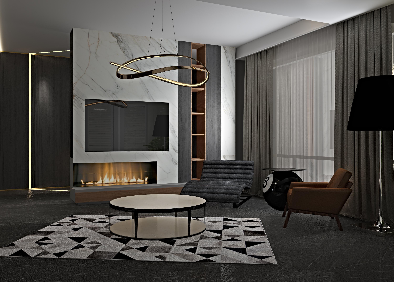 极简别墅室内设计图片