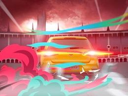 一汽-大众高尔夫《燃力联盟》动画片