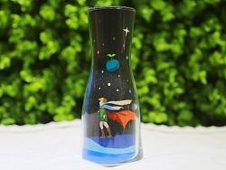 小王子玫瑰沙瓶画《初心》 瓶中沙画 立体沙画艺术