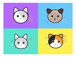 插画——各种小猫