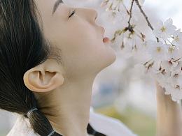 女生的樱花