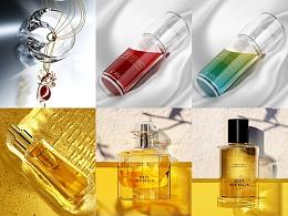 护肤品产品渲染